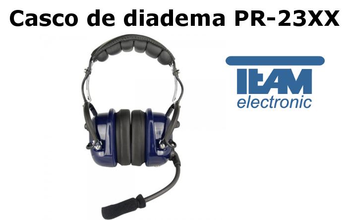 Casco de Diadema PR-23XX de Team Electronic proteccion contra el viento
