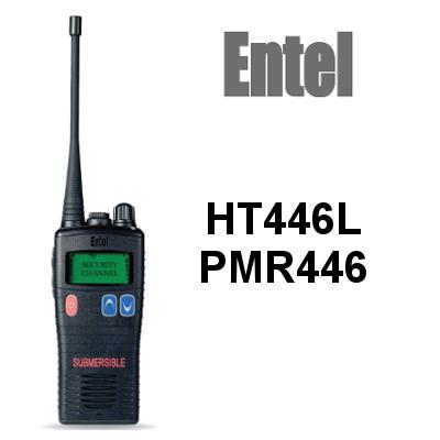 Walkie ENTEL HT446L PMR446 IP68. CON PANTALLA