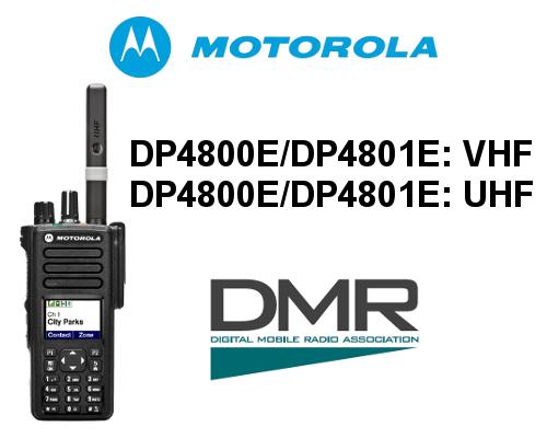 WALKIE MOTOROLA DIGITAL DP4800E / DP4801E DE 1000 CANALES