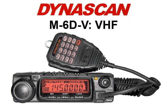 EMISORA DYNASCAN M-6D-V DE 60 W