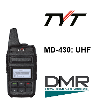 RADIO TYT MD-430 DIGITAL DMR